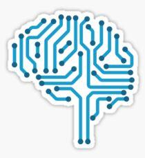 Artificial Intelligence Logo Sticker