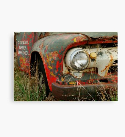 Barrabool Farmer Canvas Print
