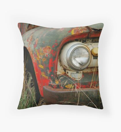 Barrabool Farmer Throw Pillow