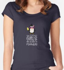 Coolest Girls Birthday in FEBRUARY Ryh2d Women's Fitted Scoop T-Shirt