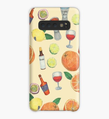cocktail recipe pattern _ zombie Case/Skin for Samsung Galaxy