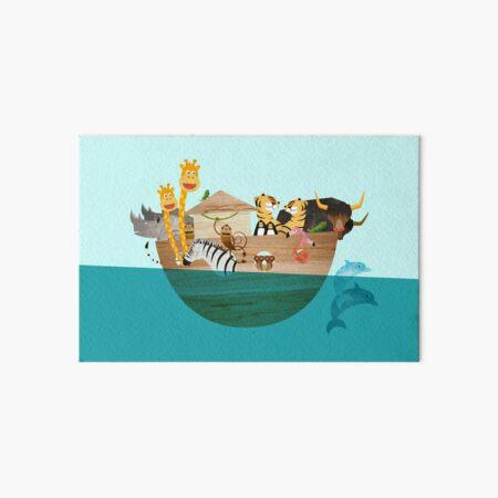 Arche Noah – Alle Tiere an Bord Galeriedruck