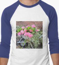 Hydrangea's in a Wheelbarrow  T-Shirt