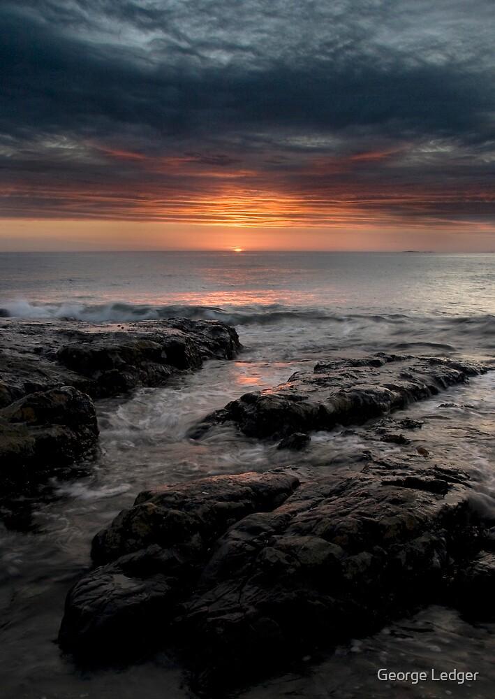 Northumbrian Sunrise by George Ledger