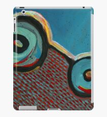 Abstract Art - Happily Downhill iPad Case/Skin