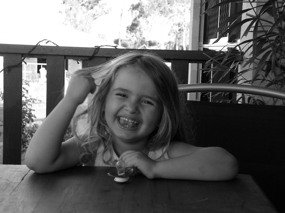 little girl by dawni
