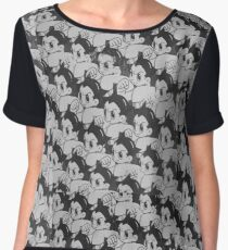 Astro Boy Pattern Chiffon Top
