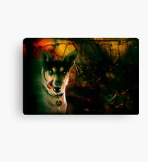 the terrier of the baskervilles Canvas Print