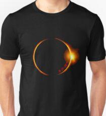 Sonnenfinsternis von 2017 Slim Fit T-Shirt