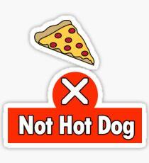 Not Hot Dog Sticker