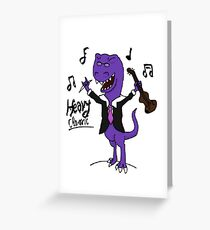 Heavy Metal of Classic Greeting Card