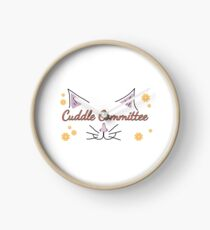 Cuddle Committee Clock