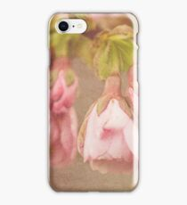 Spring Time - Pink Blossom Textured iPhone Case/Skin