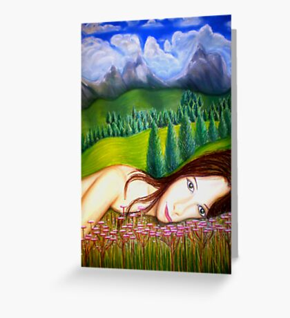 Amy's Travels - Pastels Greeting Card