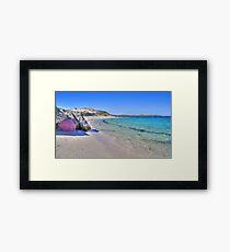 Rottnest Island - HDR Framed Print