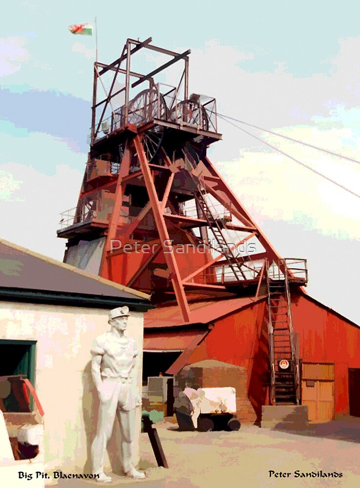 Big Pit Mining Museum, South Wales by Peter Sandilands