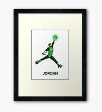 Air Jordan Framed Print