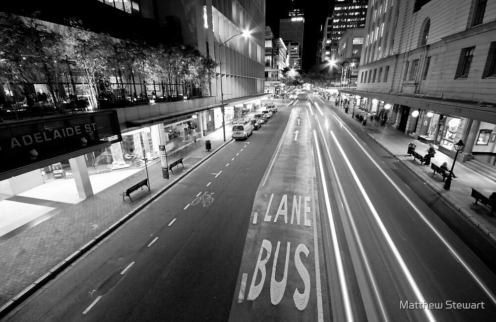 Streaks Of Brisbane by Matthew Stewart