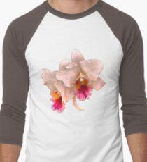 Orchids #4 Men's Baseball ¾ T-Shirt