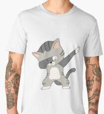 Dabbing Cat T-Shirt Men's Premium T-Shirt