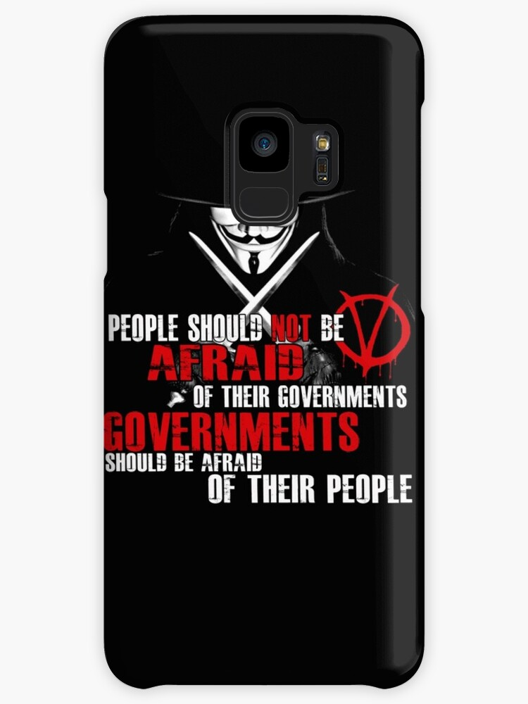 V FOR VENDETTA GUY FAWKES CONSPIRACY QUOTE By Realmendesign
