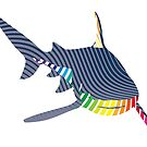 Color Shark Swoosh by asyrum