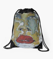 Bleu Océan Drawstring Bag