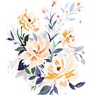 Brina - floral print by gfstudio