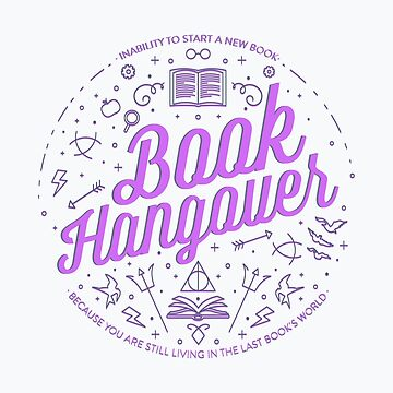 Book Hangover (Purple) by missphi