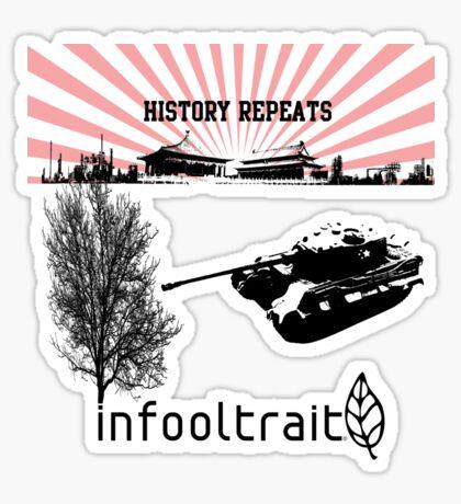 history repeats Sticker