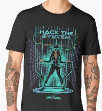 Hack The System!  Men's Premium T-Shirt