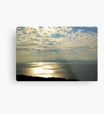 Rays Over Bantry Bay Metal Print