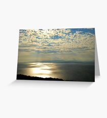 Rays Over Bantry Bay Greeting Card
