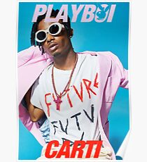 Playboy Carti Poster / Tee Shirt Poster