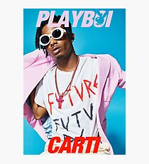 Playboy Carti Poster / Tee Shirt Photographic Print