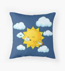 Stoner Sun Throw Pillow