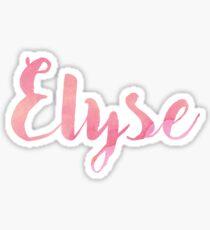 Elyse Sticker