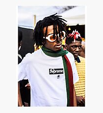 Playboi Carti Supreme Poster Photographic Print