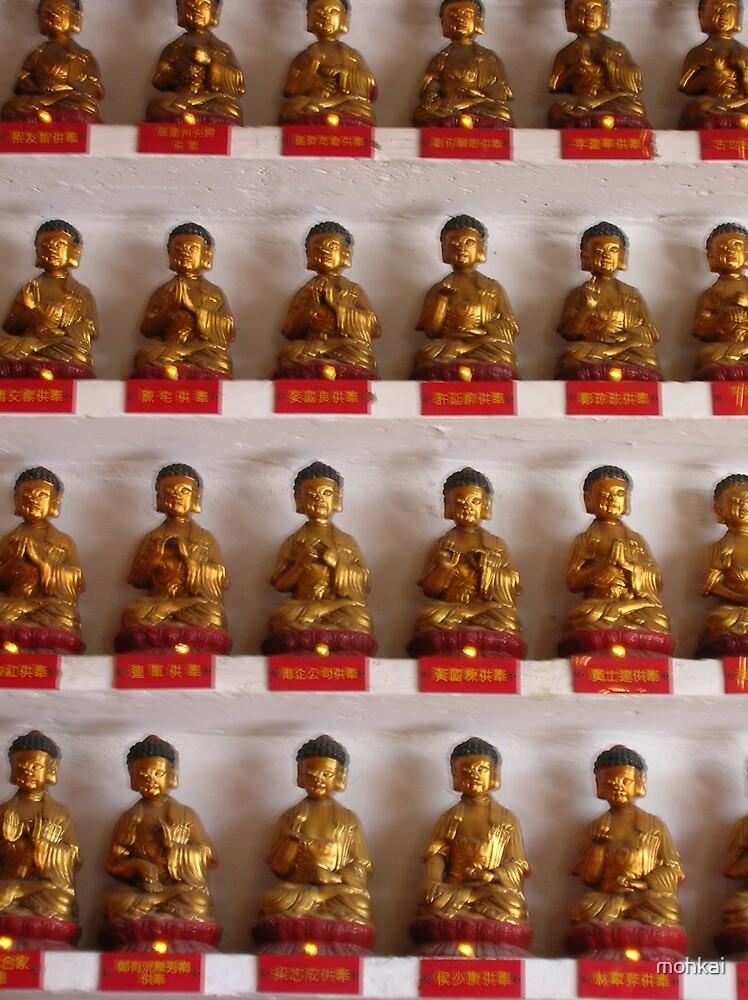 1,2,3,4........10,000 buddhas by mohkai