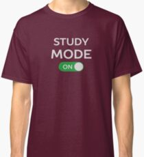 Study Mode Funny School Humor  Classic T-Shirt