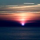 Sunset over the Atlantic by Holly Martinson