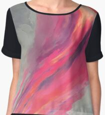 Where Fear Ends Chiffon Top