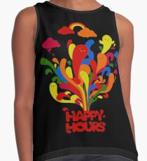 Happy Hours Time Contrast Tank