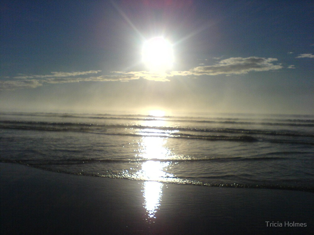 Sunburst on a winter's day... by Tricia Holmes