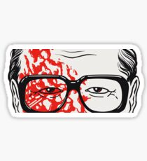 George  Romero View Sticker