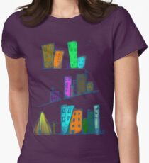 City of colors Women's Fitted T-Shirt