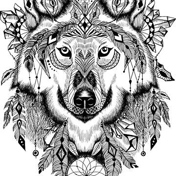 Wolf T-shirt Premium Design by gerand
