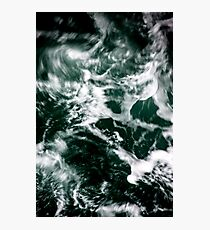 Dark Ocean Sea Waves Photographic Print