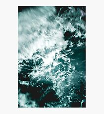 Turquoise Sea Waves Photographic Print