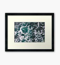 Perfect Ocean Waves Framed Print